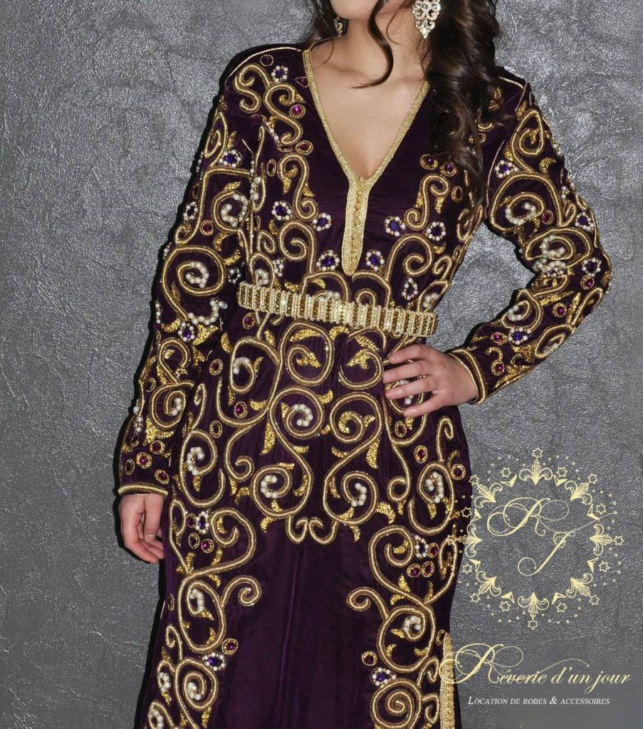 robe de soirée marocaine
